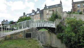 Bridge over Widcombe Lock
