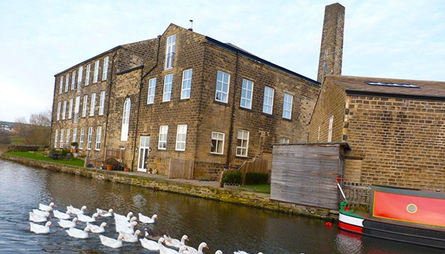 Airedale Mill, Micklethwaite, now residential accommodation