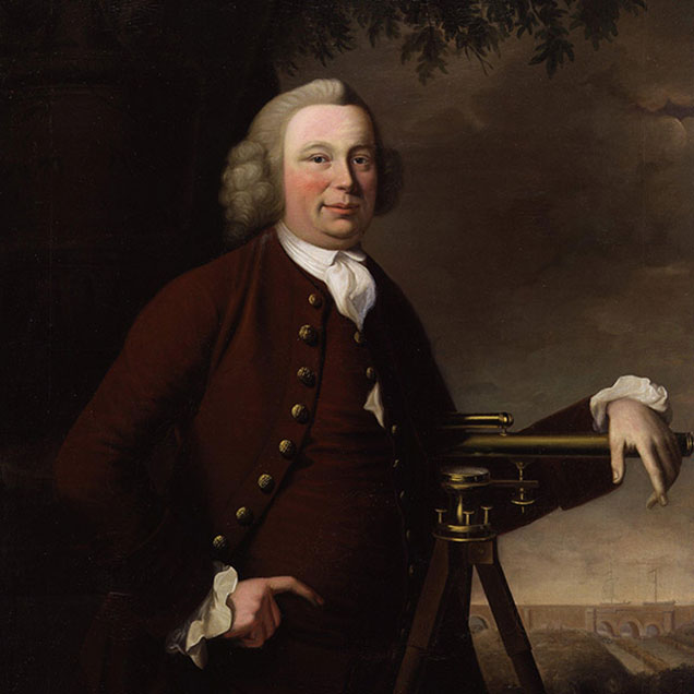 Painted portrait of James Brindley