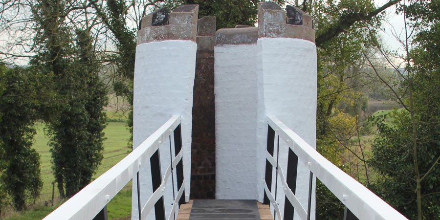 Drayton Turret footbridge