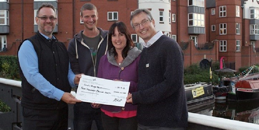 Roving Canal Traders Assocation charitable donation