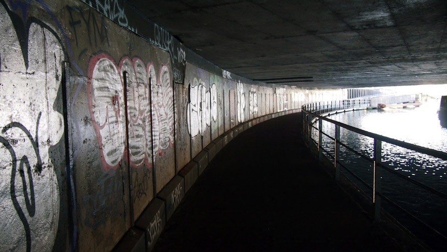 Photo of Bow Roundabout Footpath tunnel