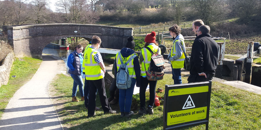 Young people completing their John Muir Award
