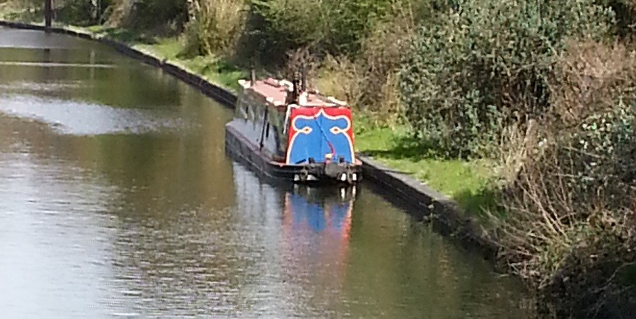 HELEN on the Stourbridge Canal