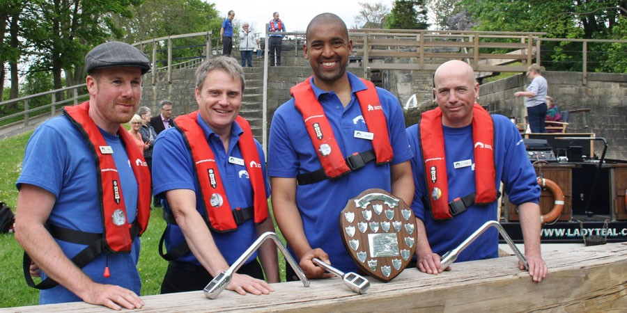 Bingley lock keepers