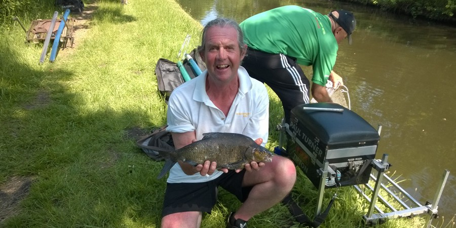Paul Turner with 2lb bream