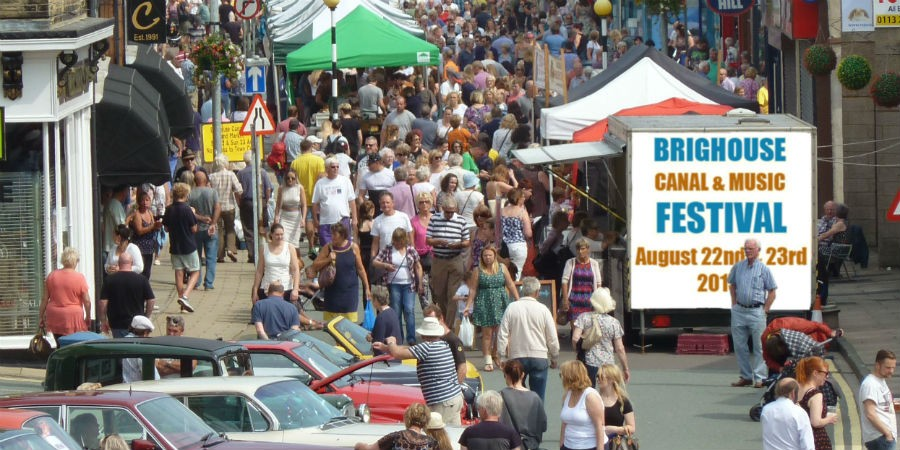 Brighouse Canal Festival