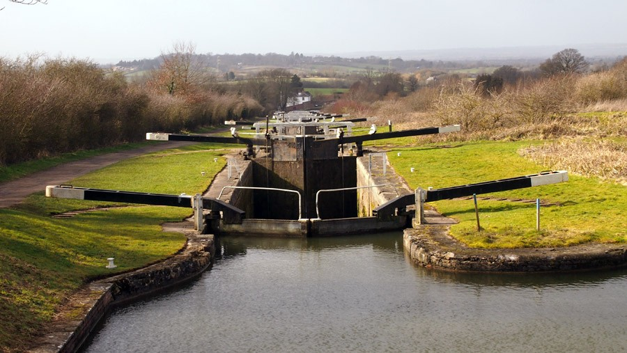 photo of Caen Hill Lock Flight, Devizes