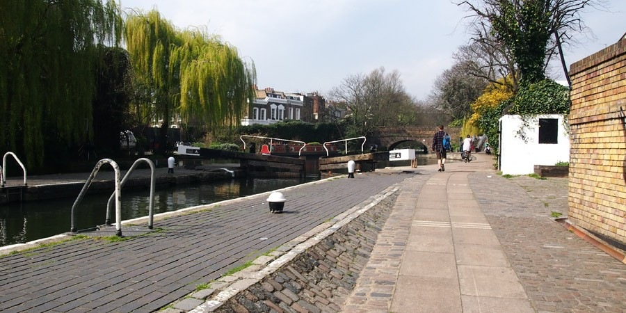 photo of City Road Lock, Regent's Canal
