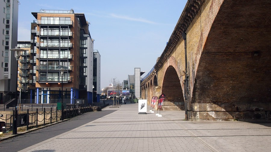 Photo of Limehouse Basin