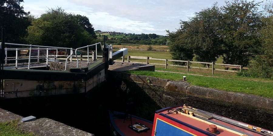 View from Eastwood Lock