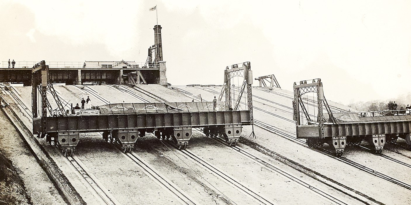 Foxton incline historic image 1