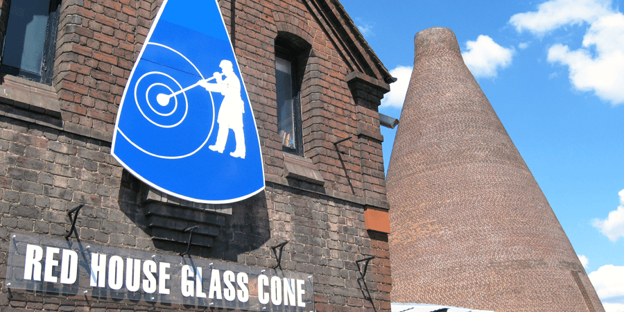 Hayley, Red House Cone Glass kiln