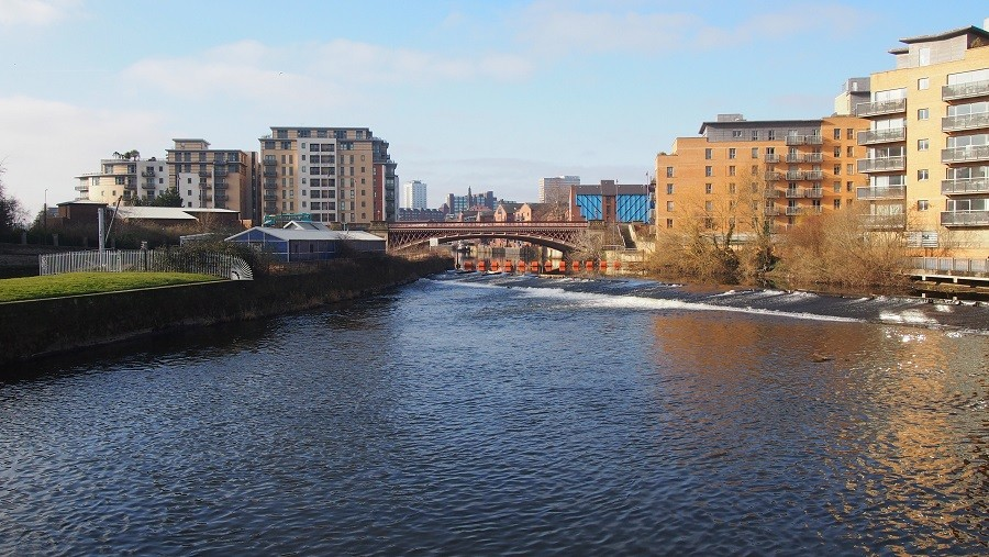 Photo of Clarence dock