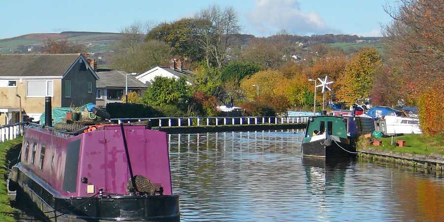 Bingley embankment today