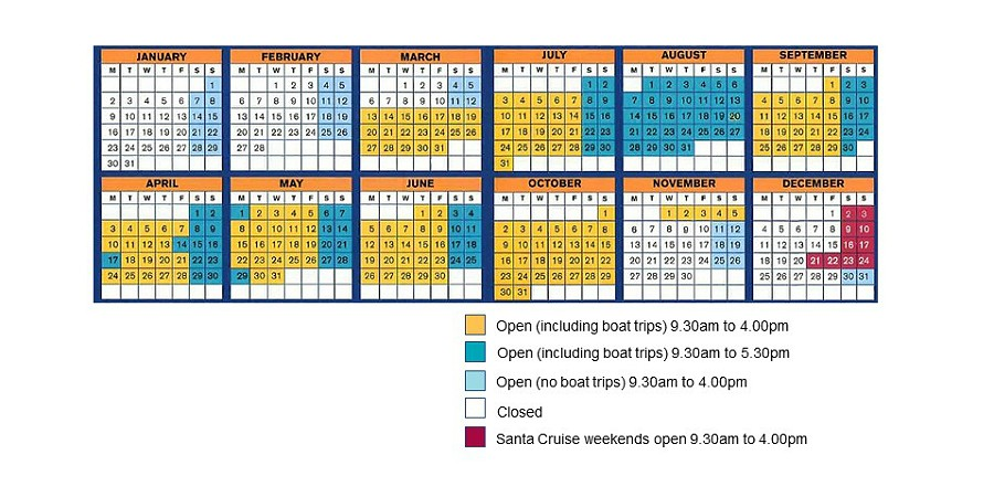 Anderton opening times