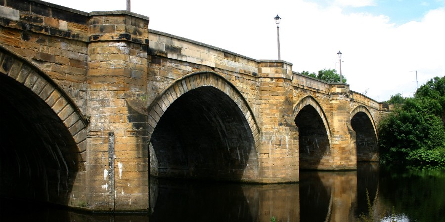 Yarm Bridge River Tees