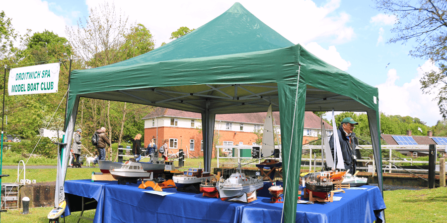Droitwich Spa model boat club
