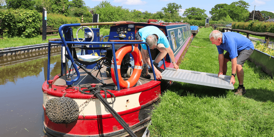 Lyneal Trust narrowboat