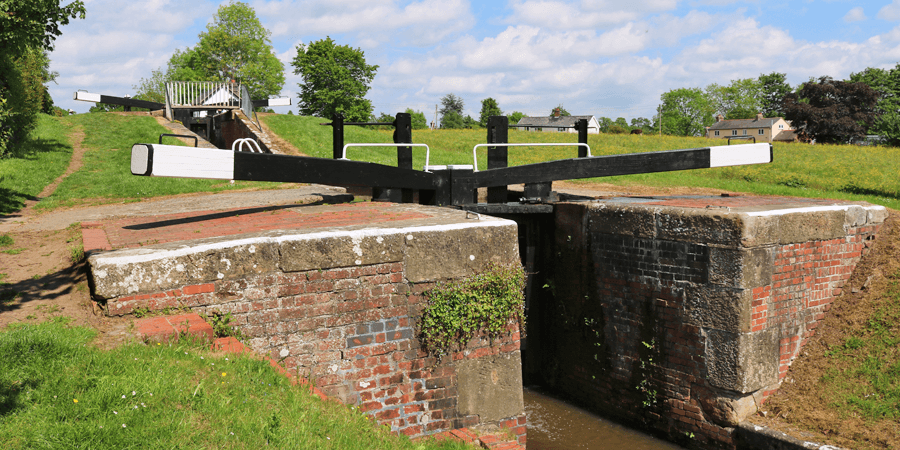 A lock at Frankton
