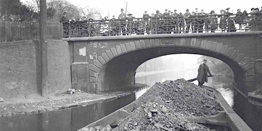 History Of Carpenters Road Lock Canal Amp River Trust