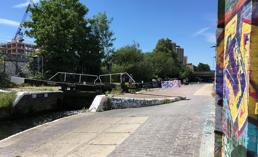 Photo of Bottom Lock, Hertford Union Canal