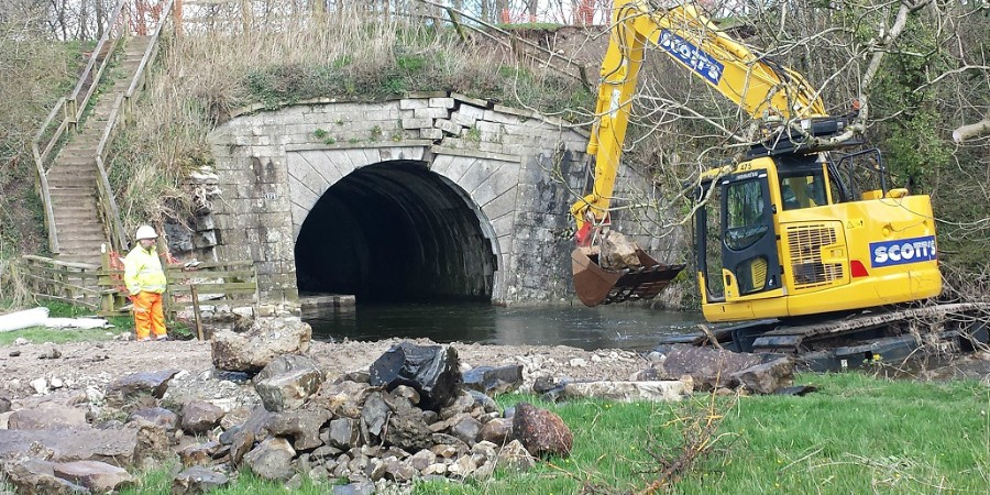 Work begins on Stainton Aqueduct
