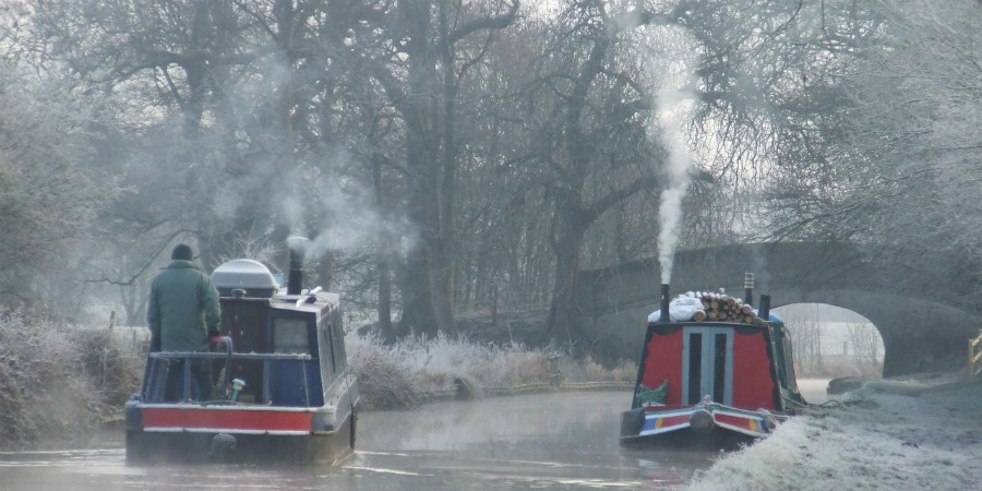 Winter on the Llangollen Canal