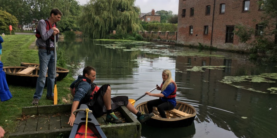 Discovery Day at Canal Head on Pocklington Canal