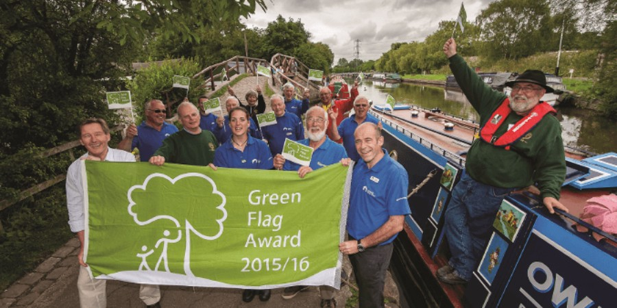 Green Flag award team