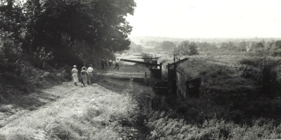 Caen Hill in the 1950s