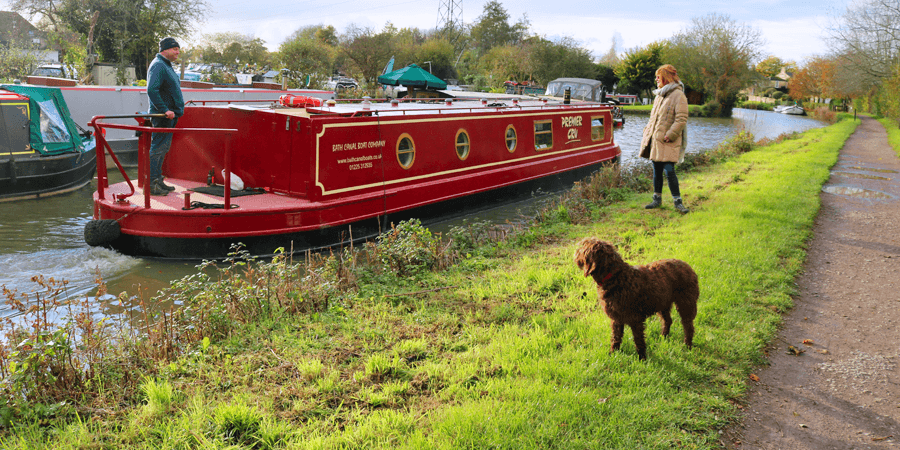 Boating on the Kennet & Avon Canal