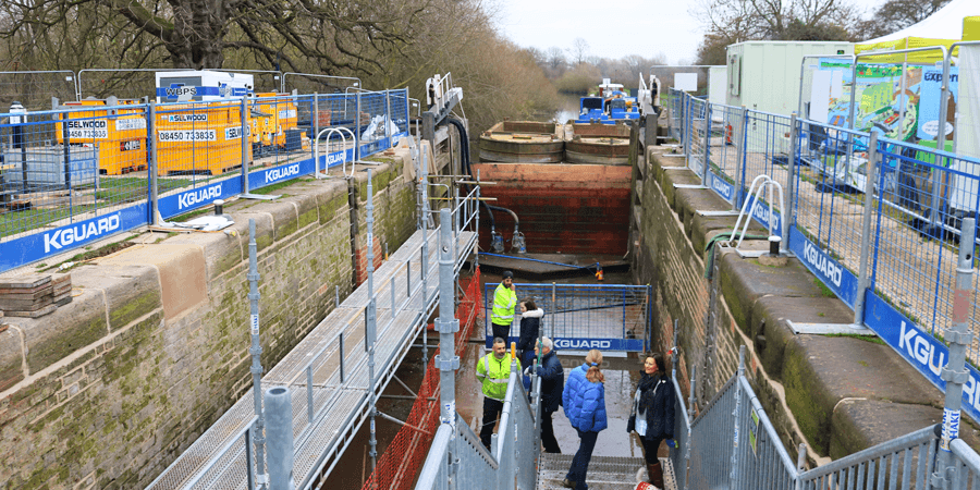 Derwent Mouth Lock, Open Day