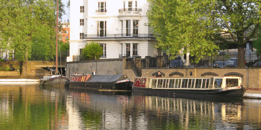 Boats at Little Venice