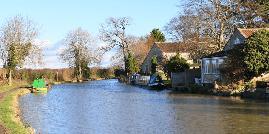 Staverton, kennet & Avon Canal