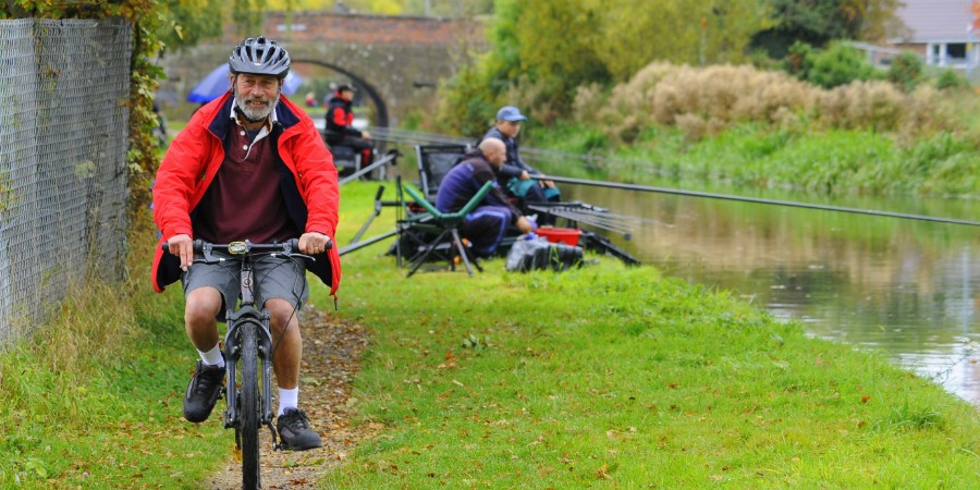 Active ageing on the Cheshire Canals