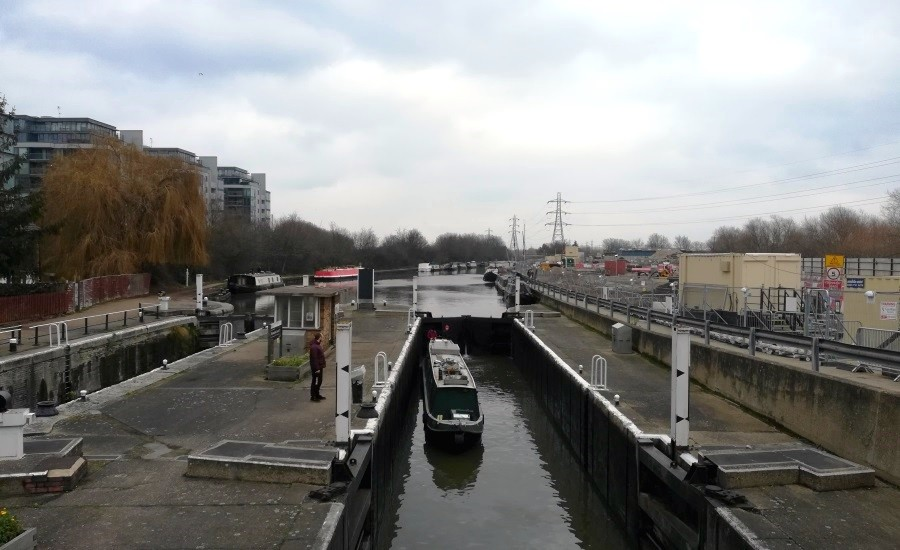 photo of tottenham lock