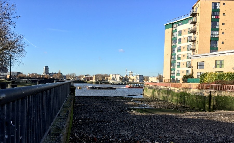 photo of Millwall Slipway