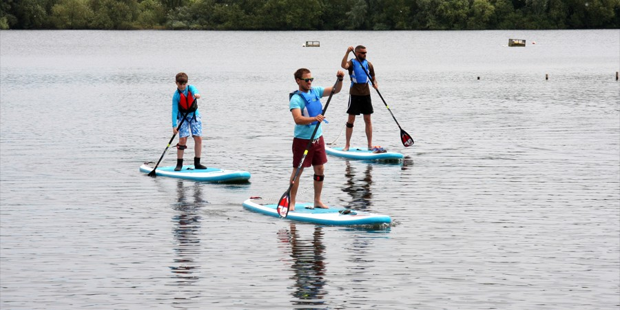 Paddleboarding - the basics   Canal activities   Canal & River Trust