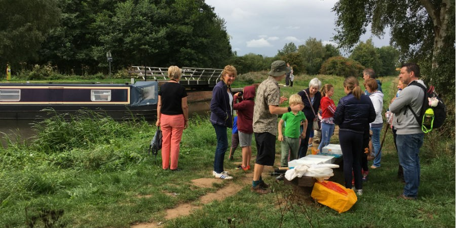 Family Wildlife Event on the Pocklington Canal, August 2018