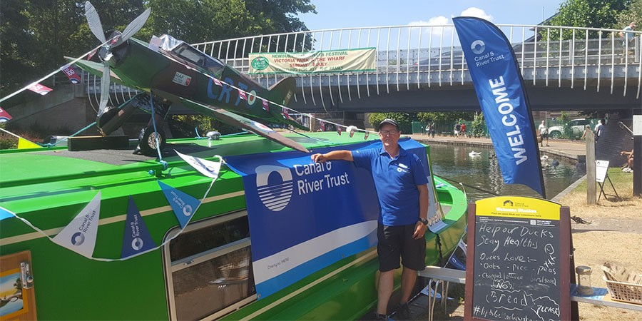 Volunteering at Newbury Water Festival