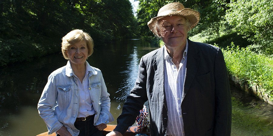 Photo of Tim and Pru from Great Canal Journeys