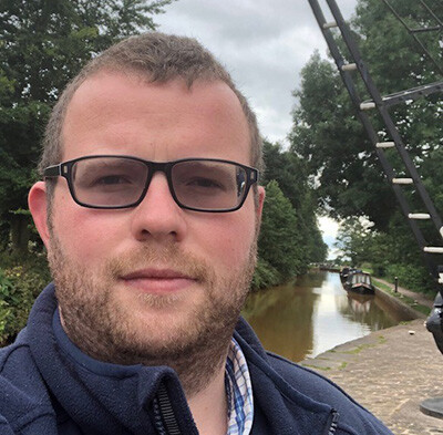 Liam Cooper, boating and customer service manager, North West