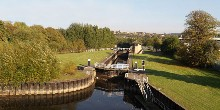 Lock on Sheffield & South Yorkshire Navigation