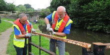 Towpath Taskforce volunteers