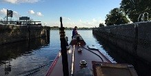 Heading out on the Trent