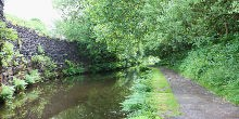 Huddersfield Narrow Canal towpath walk