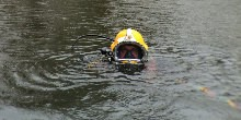 Diving in the Regent's Canal