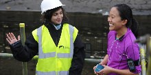 Canal & River Trust staff at an Open Day.