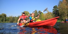 Canoeing as a family